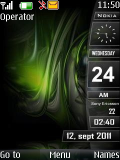 Nokia Sidebar W Icone Mobile Theme