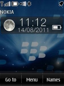 Blackberry Mobile Theme