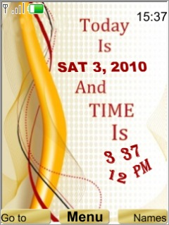 Time And Date Mobile Theme