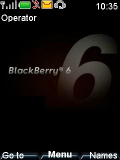Blackberry Mobile Theme