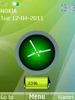 Download Green Analog Nokia Theme | Mobile Toones