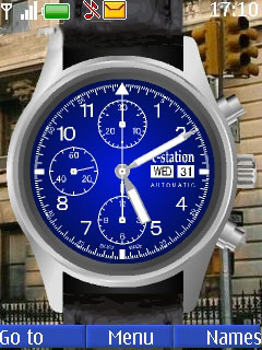 Swf Wrist Clock Mobile Theme