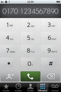 Dialer Numbers Mobile Theme