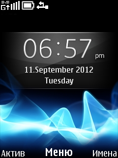 Xperia Mobile Theme