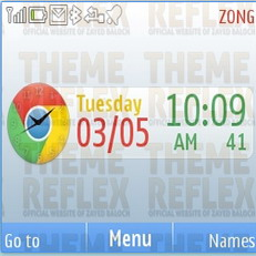Google Chrome  Mobile Theme