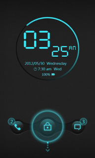 Cyrix Color Clock For Android Theme Mobile Theme