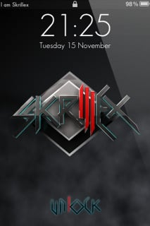 Skrillex For IPhone Theme Mobile Theme
