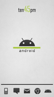 Android Time For Android Theme Mobile Theme