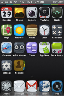 HD Simple ICons IPhone Theme Mobile Theme