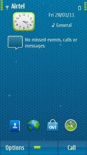 Blue Dots For Nokia Theme Mobile Theme