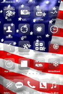 American Flag IPhone Theme Mobile Theme