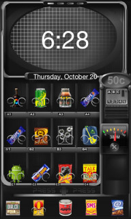 Vending Machine Android Theme Mobile Theme