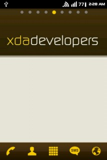 XDA Developer Free Android Theme Mobile Theme