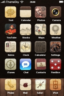 Louie Mantia ICons IPhone Theme Mobile Theme