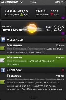 Elegance Cute & Weather IPhone Theme Mobile Theme