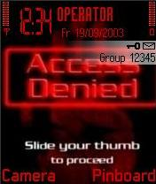 Access Denied Mobile Theme