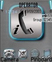I Phone Mobile Theme