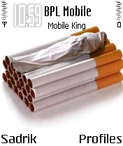 Stop Cigarate Mobile Theme