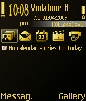 Golden Icon Theme  By Ur Favorite Shahid Mobile Theme