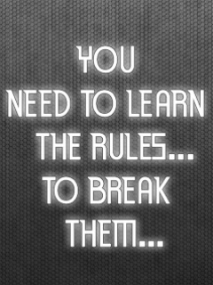 Break The Rules Mobile Theme