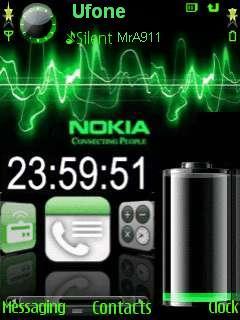 Power Nokia2 Mobile Theme