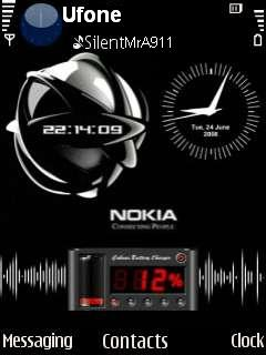 Power Nokia 3 Mobile Theme