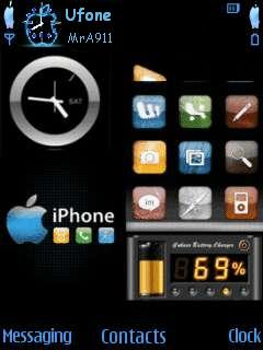 Iphone Mobile Theme