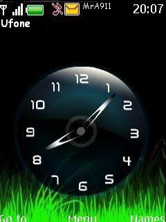 Sweet Clock Mobile Theme