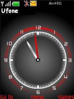 Nice Clock Mobile Theme