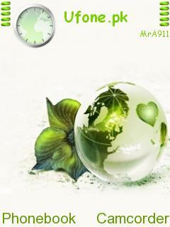 Green World Mobile Theme