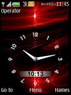 A-2-Z Clock Mobile Theme