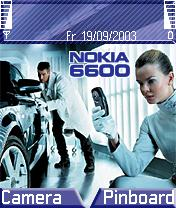Nokia 6600 Theme Mobile Theme