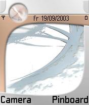 7610 White Theme Mobile Theme