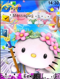 Hello Kitty Mobile Theme