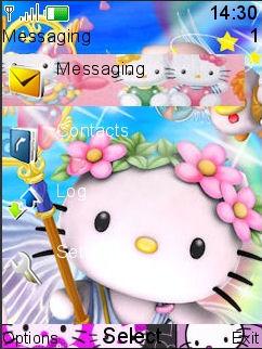 Hello Kitty Mobile Theme