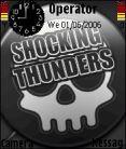 Shocking Thunder Mobile Theme