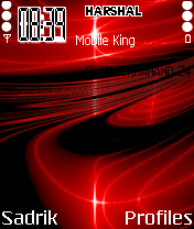 Red Design Mobile Theme