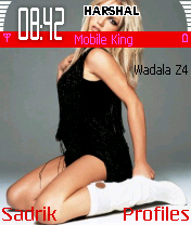 Coolice Britney Mobile Theme