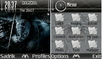 Spidey Mobile Theme