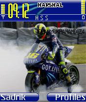 Vantelino Rossi Mobile Theme
