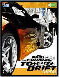 Tokyo Drift Mobile Theme