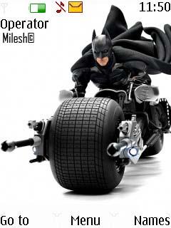 Batman Nokia Theme Mobile Theme