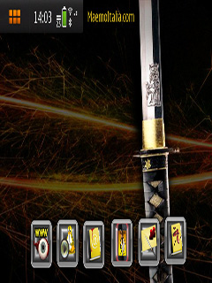 Kill Bill N900 Nokia Theme Mobile Theme