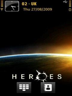 Heroes Nokia Theme Mobile Theme