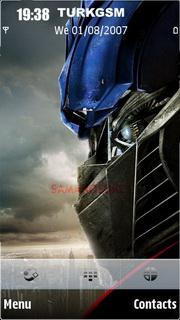 Transformers Theme Mobile Theme