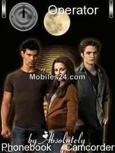 Twilight New Moon Mobile Theme