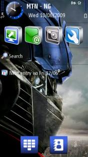Transformers Mobile Theme