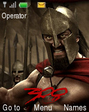 300 Spartans Mobile Theme