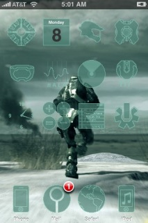Another Halo 3 Apple IPhone Theme Mobile Theme