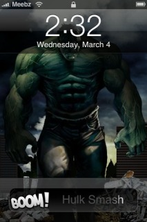 Hulk IPhone Theme Mobile Theme